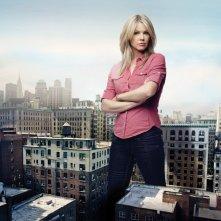 Andrea Roth in una foto promozionale della stagione 5 di Rescue Me