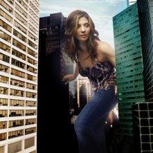Callie Thorne in una foto promozionale della stagione 5 di Rescue Me