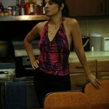 Callie Thorne in una scena dell'episodio Baptism di Rescue Me