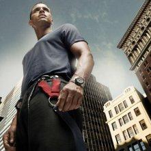 Daniel Sunjata in una foto promozionale della stagione 5 di Rescue Me