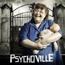Dawn French in un poster promozionale della serie Psychoville