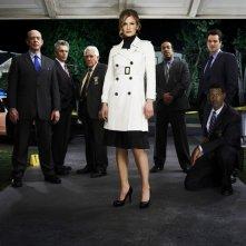 Il cast della stagione 5 di The Closer in una foto promozionale