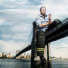 John Scurti in una foto promozionale della stagione 5 di Rescue Me