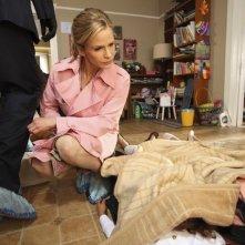 Kyra Sedgwick in una scena dell'episodio Blood Money di The Closer