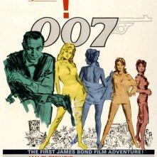 La locandina di Agente 007, licenza di uccidere