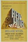 La locandina di Ben Hur