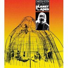La locandina di Il pianeta delle scimmie