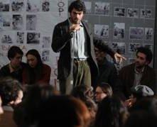 Luca Argentero in una scena de Il grande sogno
