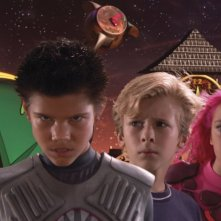 Taylor Lautner, Cayden Boyd eTaylor Dooley in The Adventures of Shark Boy & Lava Girl in 3-D