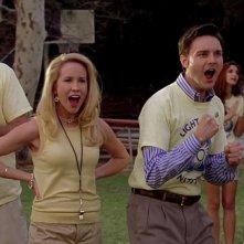 Anna Camp e Michael McMillian in una scena dell'episodio 'Keep This Party Going' della seconda stagione di True Blood