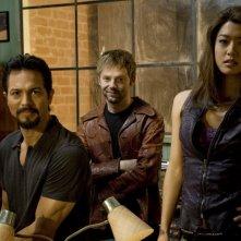 Il cast di The Cleaner in una foto promozionale della seconda stagione