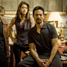 Il cast di The Cleaner in una foto promozionale della stagione 2