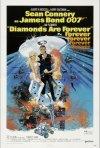 La locandina di Agente 007, una cascata di diamanti