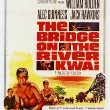 La locandina di Il ponte sul fiume Kwai