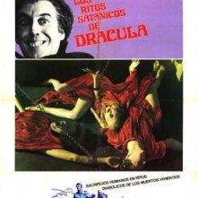 Locandina spagnola del film I satanici riti di Dracula