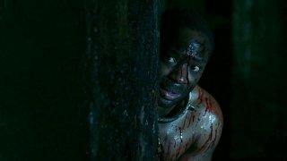 Nelsan Ellis in una scena dell'episodio 'Keep This Party Going' della seconda stagione di True Blood