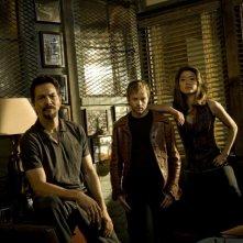 Una immagine promozionale del cast della seconda stagione di The Cleaner