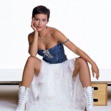 Alyssa Milano con un nuovo taglio di capelli per la sesta stagione di 'Streghe'