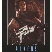 La locandina di Aliens - Scontro finale