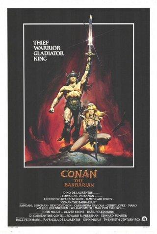 La locandina di Conan il barbaro