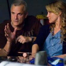 Il regista Nick Cassavetes e Cameron Diaz sul set del film La custode di mia sorella