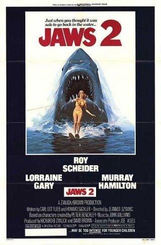 La locandina di Lo squalo 2