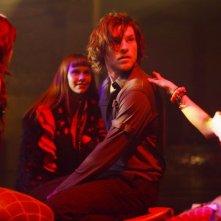 Sam Worthington in una sequenza del film Macbeth