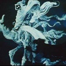 Una spettacolare scena dall\'episodio Una notte sul Monte Calvo nel film Fantasia