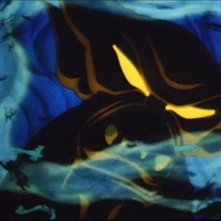 Una splendida scena con il demone Chernabog dell\'episodio Una notte sul Monte Calvo in Fantasia