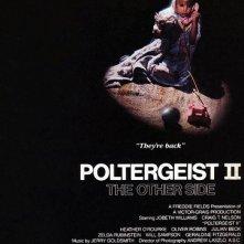 Locandina americana del film Poltergeist II - l\'altra dimensione