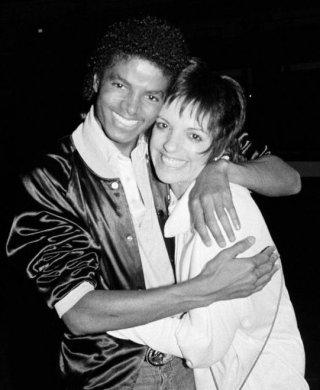 Michael Jackson con Liza Minnelli