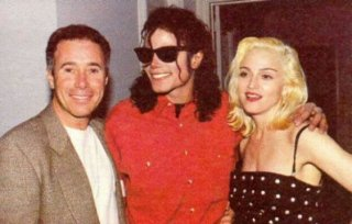 Michael Jackson tra Madonna e il produttore David Geffen