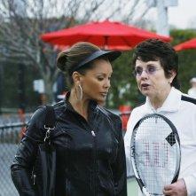 Billie Jean King e Vanessa Williams nel doppio finale della terza stagione di Ugly Betty