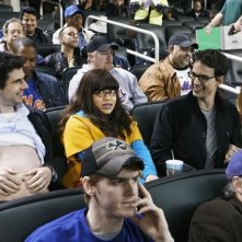 Daniel Eric Gold, Christopher Gorham ed America Ferrera nel doppio finale della terza stagione di Ugly Betty