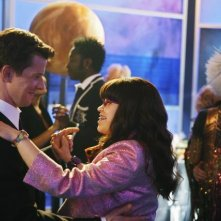 Eric Mabius ed America Ferrera in una scena dell'episodio In the Stars di Ugly Betty