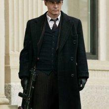 Johnny Depp in una scena di Nemico pubblico
