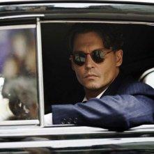 Johnny Depp in un'immagine di Nemico pubblico