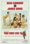 La locandina di Agente 007, si vive solo due volte