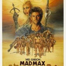 La locandina di Mad Max oltre la sfera del tuono
