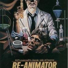 La locandina di Re-Animator
