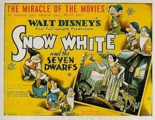 Lobbycard promozionale del film Biancaneve e i sette nani, della Disney