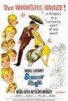 Locandina americana del 1963 del film Magia d\'estate