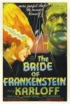 Locandina americana del film La moglie di Frankenstein