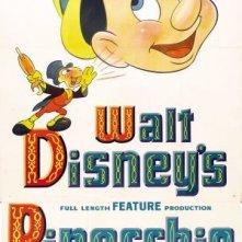 Locandina americana del film Pinocchio