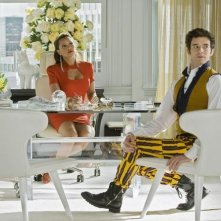 Vanessa Williams e Michael Urie in una scena dell'episodio In the Stars di Ugly Betty