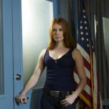 Alicia Witt in una immagine promozionale della serie Law & Order: Criminal Intent