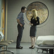 Chris Vance e Jaime Ray Newman nell'episodio Obsessively Yours di Mental