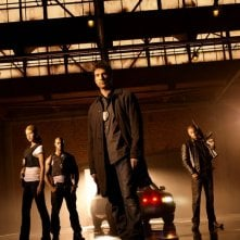 Il cast di Dark Blue in una foto promozionale della serie