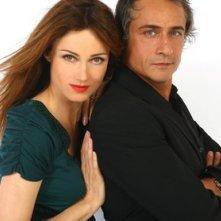 Marine Delterme insieme a Jean-Michel Tinivelli per la serie Alice Nevers