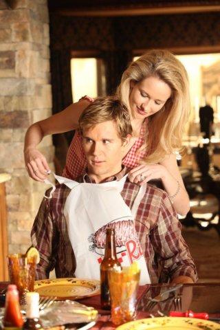 Ryan Kwanten e Anna Camp in un'immagine dell'episodio 'Scratches' di True Blood